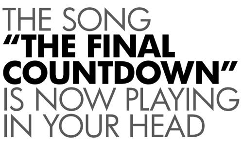 final-countdown