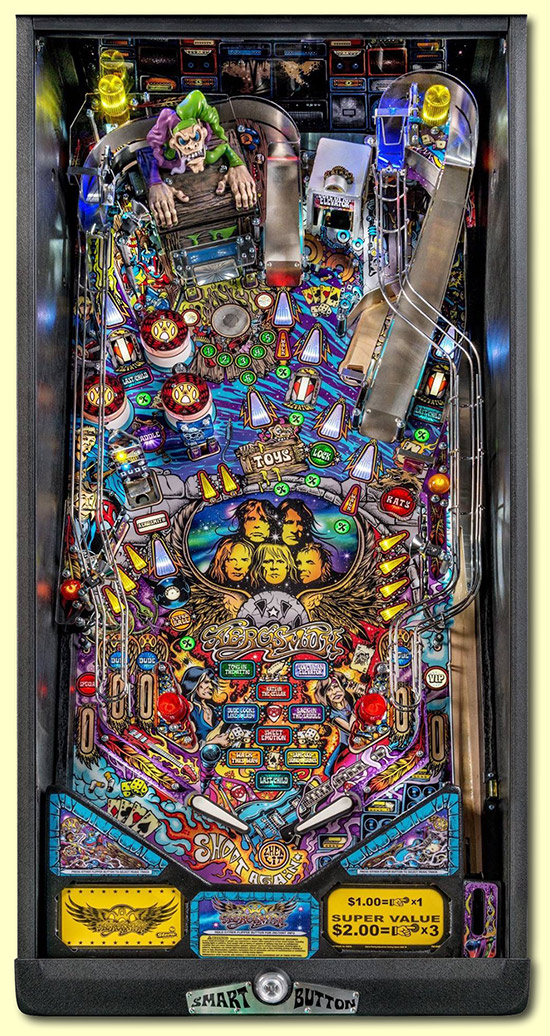 aerosmith playfield