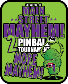 2017 Mayhem sticker
