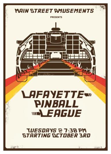 BTTF League Poster