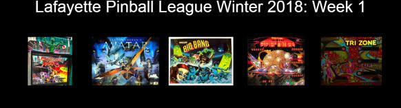 LPL Winter 2018 Week 1 games