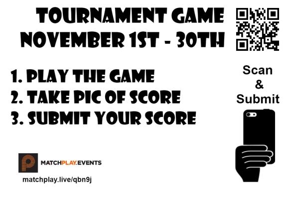 Tournament game signs layered Novmeber MSA