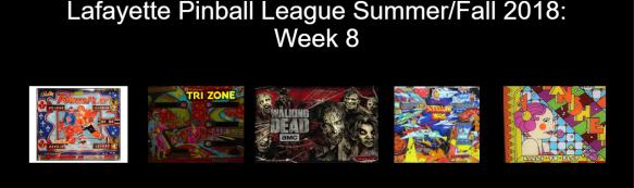 Week 8 Games