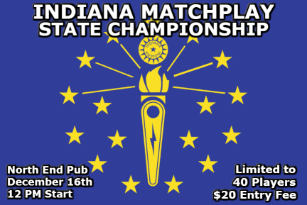 Indiana Matchplay State Championship flyer