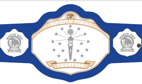 Matchplay State Champion Belt