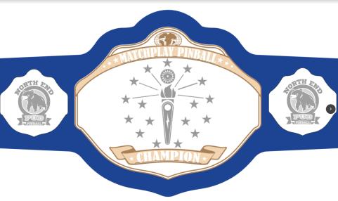 Matchplay State Champion Belt