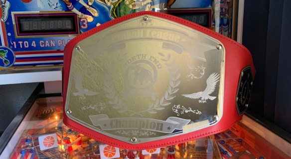 NEP Title Belt