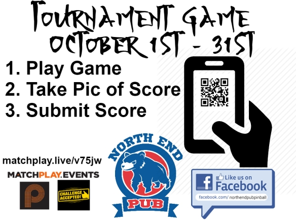 October Tournament Flyer