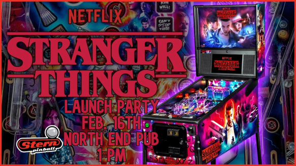 stranger things Launch Party